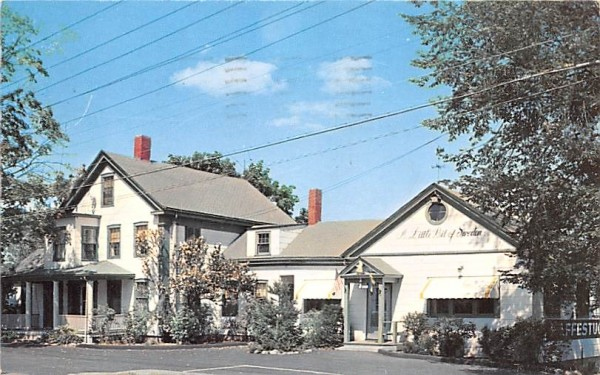 Sbensk Kaffestuga South Sudbury, Massachusetts Postcard