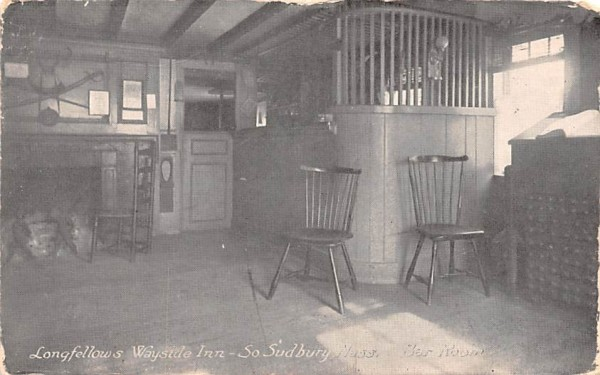 Longfellows Wayside Inn South Sudbury, Massachusetts Postcard