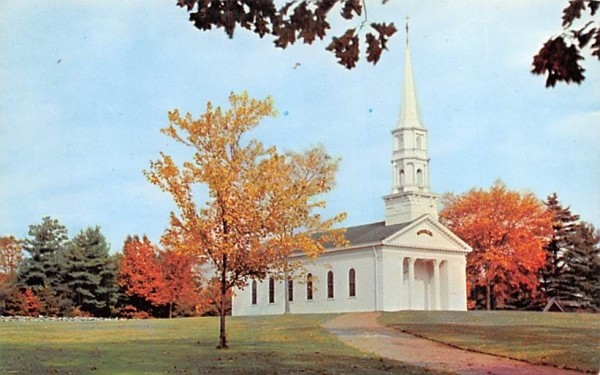 The Martha-Mary Chapel South Sudbury, Massachusetts Postcard