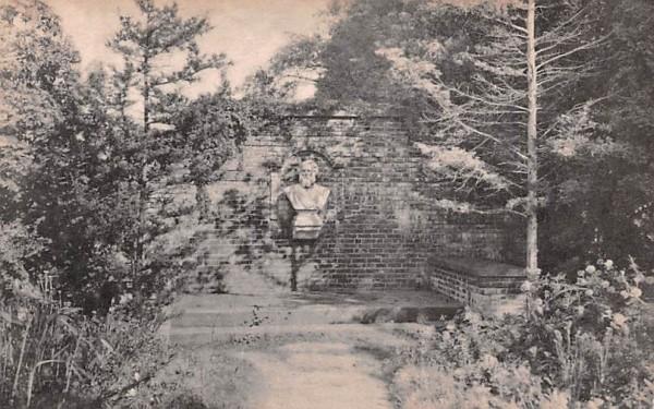 Longfellow Memorial Garden South Sudbury, Massachusetts Postcard