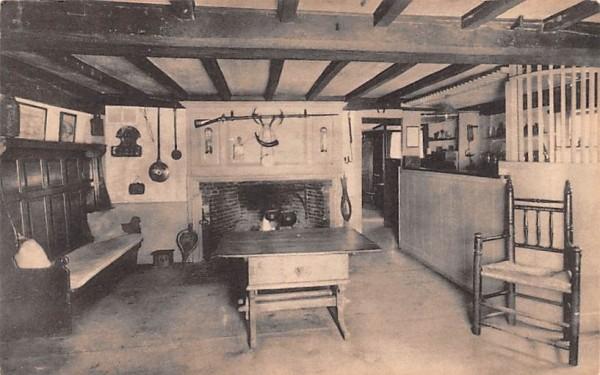 The Old Bar Room South Sudbury, Massachusetts Postcard