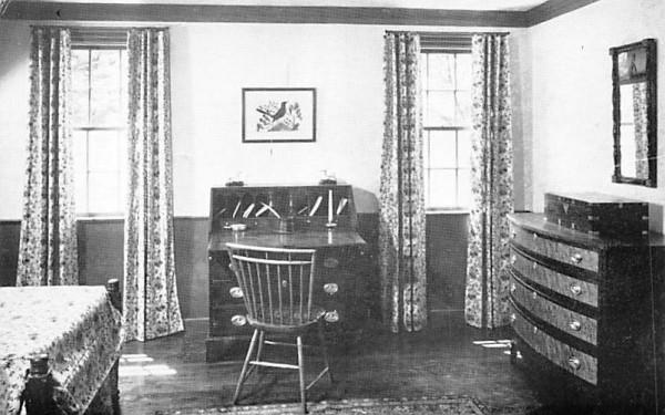 Guest Bedroom South Sudbury, Massachusetts Postcard