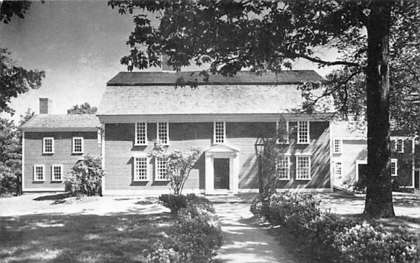 Wayside Inn South Sudbury, Massachusetts Postcard