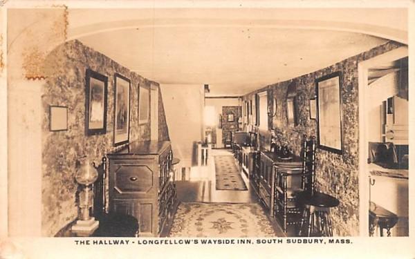 The Hallway South Sudbury, Massachusetts Postcard