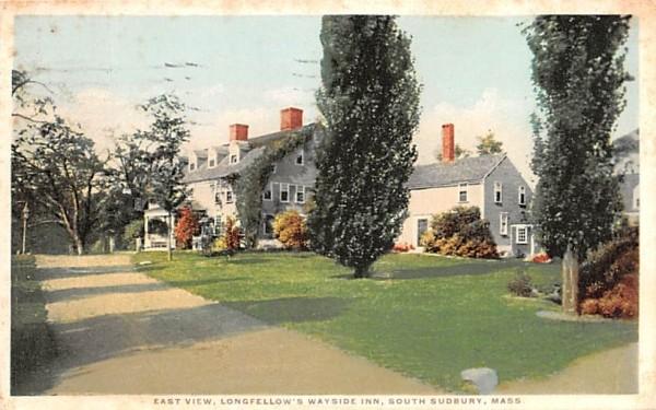 East View South Sudbury, Massachusetts Postcard