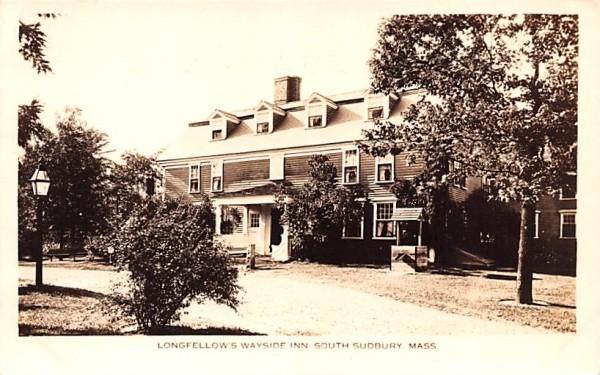 Longfellow's Wayside Inn South Sudbury, Massachusetts Postcard