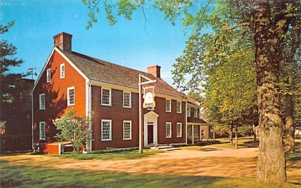The Tavern  Sturbridge, Massachusetts Postcard