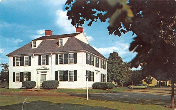 The Oliver Wight House  Sturbridge, Massachusetts Postcard