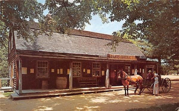 Miner Grant's General Store Sturbridge, Massachusetts Postcard