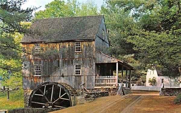 Wight's Gristmill Sturbridge, Massachusetts Postcard