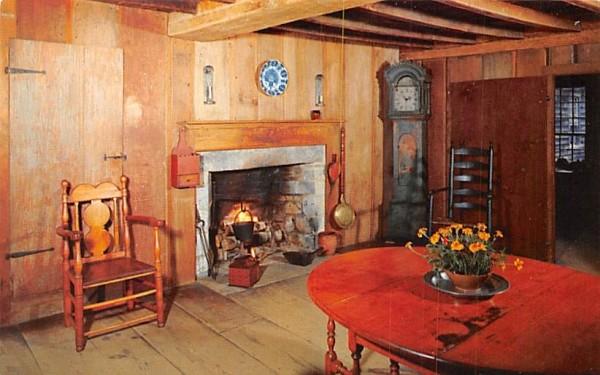 East Parlor Sturbridge, Massachusetts Postcard
