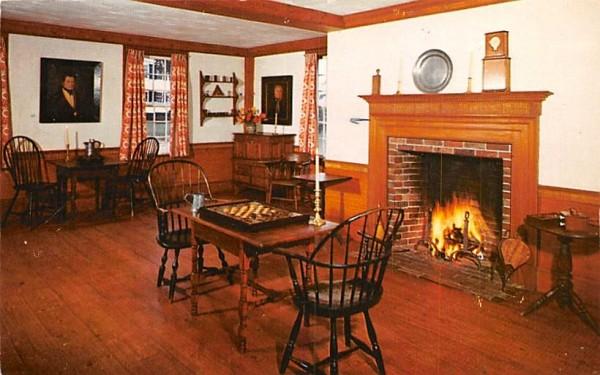The Gentlemen's Game Room Sturbridge, Massachusetts Postcard