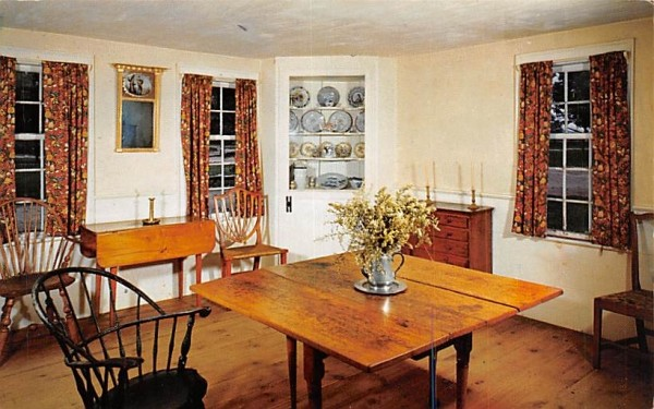 Dining Room Sturbridge, Massachusetts Postcard
