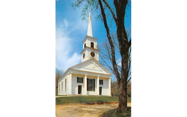 The Village Meetinghouse Sturbridge, Massachusetts Postcard