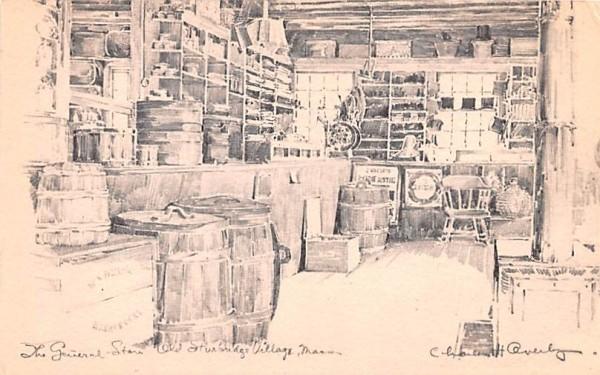 The General Store Sturbridge, Massachusetts Postcard
