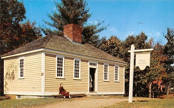 The Village Printing Office  Sturbridge, Massachusetts Postcard