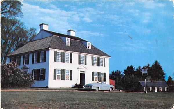 The Lodge Sturbridge, Massachusetts Postcard