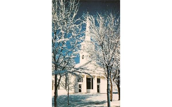 Meetinghouse Sturbridge, Massachusetts Postcard