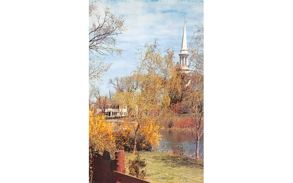 Congregational Church Sandwich, Massachusetts Postcard