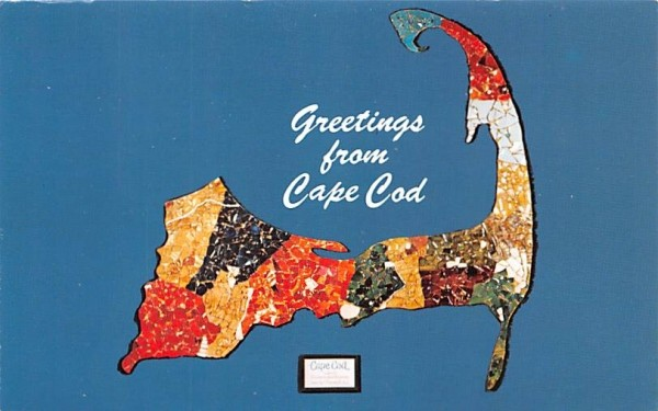 Greetings from Cape Cod Sandwich, Massachusetts Postcard