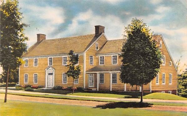 The Inn Sturbridge, Massachusetts Postcard
