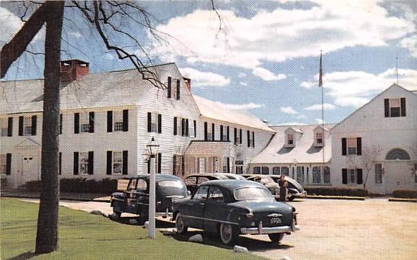 The Publick House Sturbridge, Massachusetts Postcard