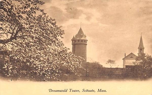 Dreamwold Tower Scituate, Massachusetts Postcard