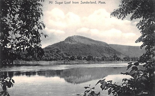 Mr. Sugar Loaf  Sunderland, Massachusetts Postcard