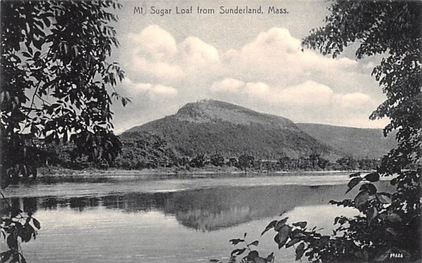 Mt. Sugar Loaf Sunderland, Massachusetts Postcard