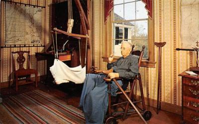 A corner of the sitting room Sturbridge, Massachusetts Postcard