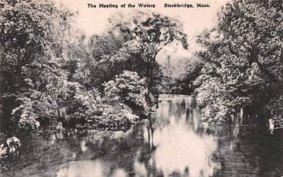 The Meeting of the Waters Stockbridge, Massachusetts Postcard