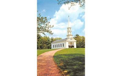 The Martha-Mary Chapel Sudbury, Massachusetts Postcard