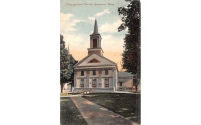 Congregational Church Stoneham, Massachusetts Postcard