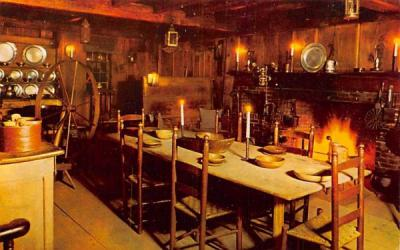 The Old Kitchen Sudbury, Massachusetts Postcard