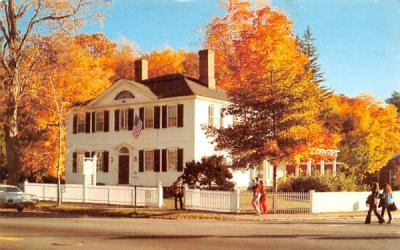 The Old Corner House Stockbridge, Massachusetts Postcard