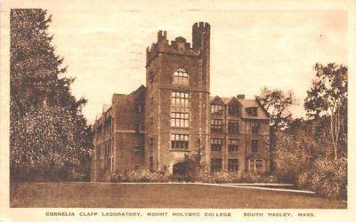 Cornelia Clapp Laboratory South Hadley, Massachusetts Postcard