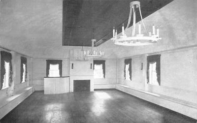 1800 Ballroom South Sudbury, Massachusetts Postcard