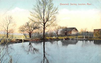 (Deserted) Sterling Junction Massachusetts Postcard