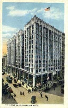 The Little Building - Boston, Massachusetts MA Postcard
