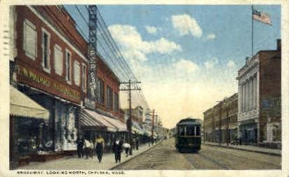 Broadway - Chelsea, Massachusetts MA Postcard