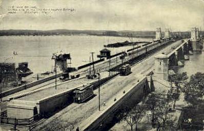The New Bridge - Boston, Massachusetts MA Postcard