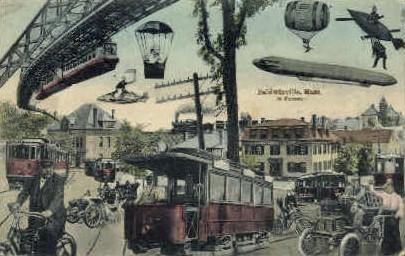 In the Future - Baldwinville, Massachusetts MA Postcard