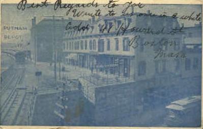 Putnam Depot - Misc, Massachusetts MA Postcard