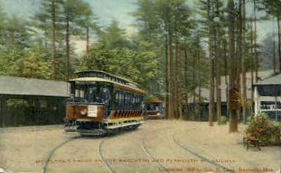 Mayflower Grove - Brockton, Massachusetts MA Postcard