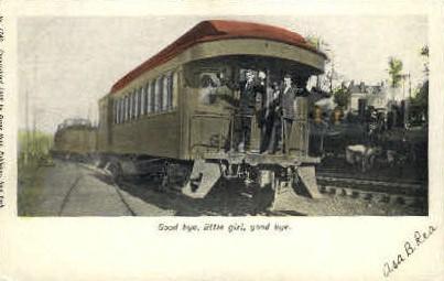 Good Bye, Little Girl, Good Bye - Misc, Massachusetts MA Postcard