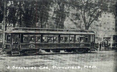Repro - A Berkshire Car - Pittsfield, Massachusetts MA Postcard