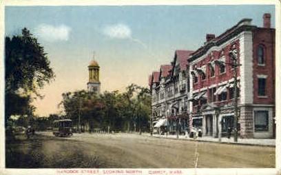 Hancock St. - Quincy, Massachusetts MA Postcard
