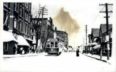 Reproduction - Main St. - Orange, Massachusetts MA Postcard