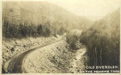 Cold Riverglen, On Mohawk Trail - Misc, Massachusetts MA Postcard