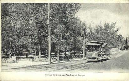 Chelsea Common & Washington Square - Massachusetts MA Postcard